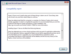 HyperV-R2-Upgrade-Issues