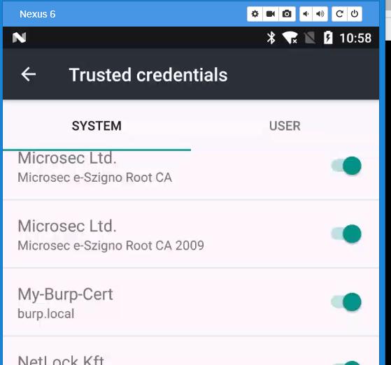 Burp Certificate Magic   Security Analyst - Jeff Soehner